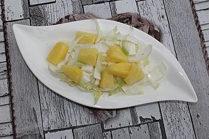 Chinakohl mit Ananas