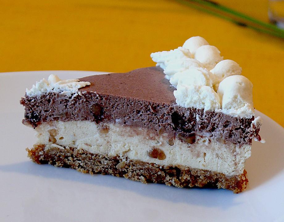 Erdnussbutter Frischkase Torte Von Hope88 Chefkoch De