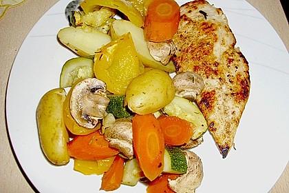 Ofenkartoffeln mit mediterranem Gemüse 9