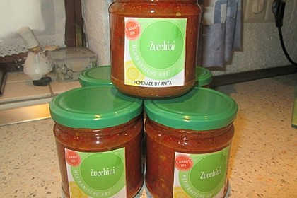 Zucchini mexikanische Art 3