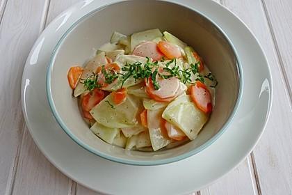 Kohlrabi - Möhren - Gemüse 2