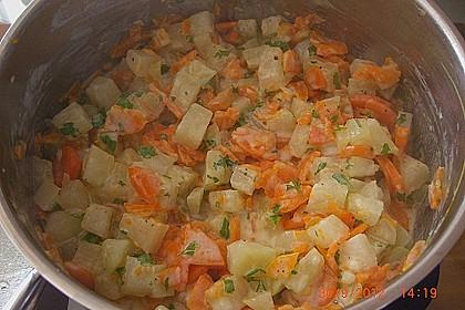 Kohlrabi - Möhren - Gemüse 4