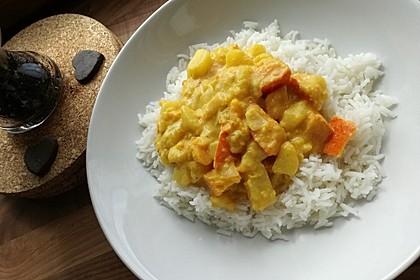 Kartoffel - Kürbis - Curry 9