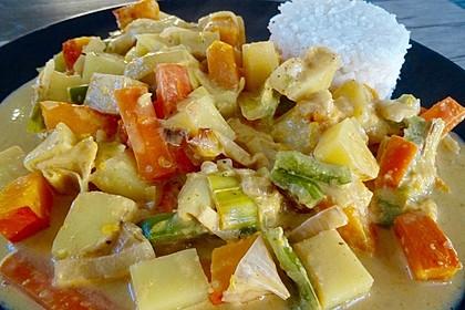 Kartoffel - Kürbis - Curry 1