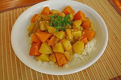 Kartoffel - Kürbis - Curry 6