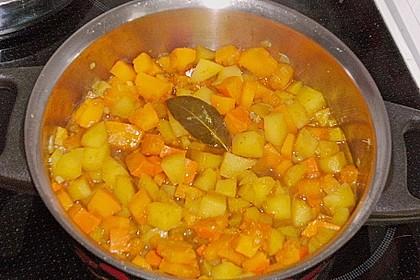 Kartoffel - Kürbis - Curry 18