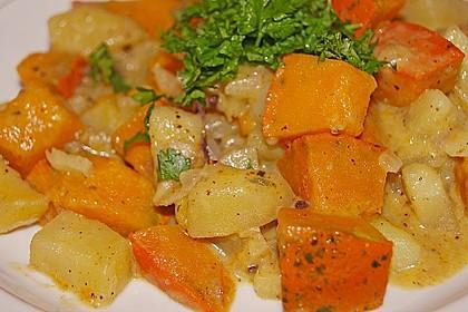 Kartoffel - Kürbis - Curry 5