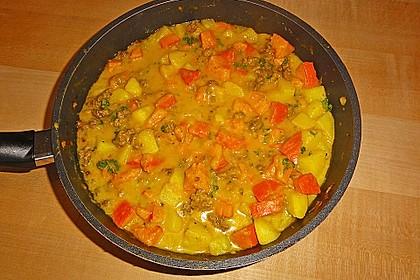 Kartoffel - Kürbis - Curry 13