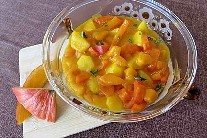 Kartoffel - Kürbis - Curry 2
