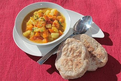 Kartoffel - Kürbis - Curry 4
