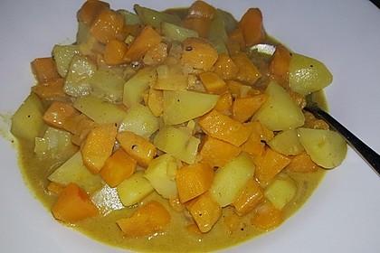 Kartoffel - Kürbis - Curry 8