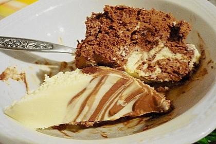 Schwarz - weiße Schokoladen - Mousse 1