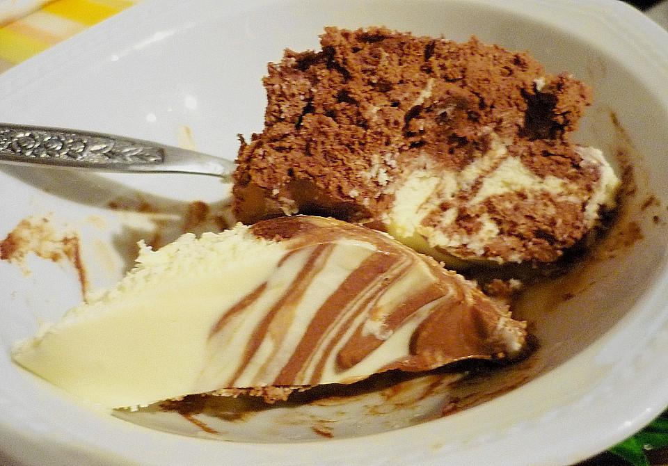 Schwarz Weiße Schokoladen Mousse Von Elanda Chefkoch