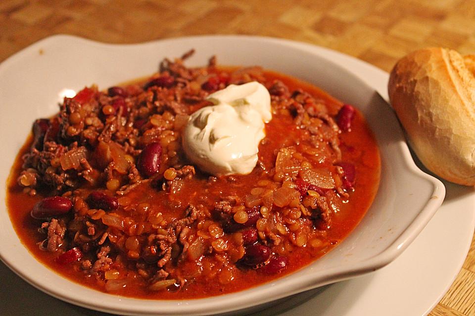 Lecker Leichtes Chili Con Carne Von Mäuschen3107 Chefkoch