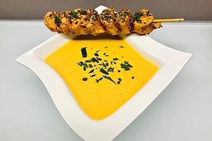 Möhrensuppe mit Kokos, Ingwer und Curry (Bild)