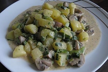 Kartoffel - Pilz - Gulasch 9
