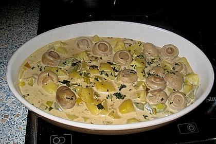 Kartoffel - Pilz - Gulasch 7