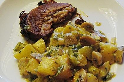 Kartoffel - Pilz - Gulasch 10