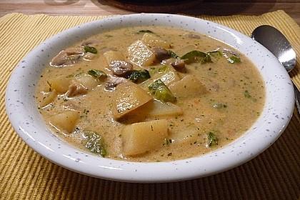 Kartoffel - Pilz - Gulasch 5