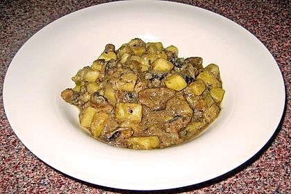 Kartoffel - Pilz - Gulasch 12