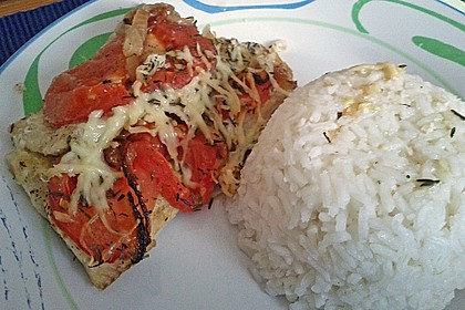 Tomaten-Seelachs (Bild)