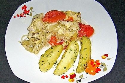 Tomaten-Seelachs 9