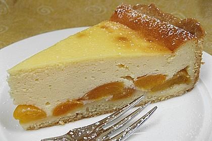 Aprikosen - Sahnerahm - Kuchen 2