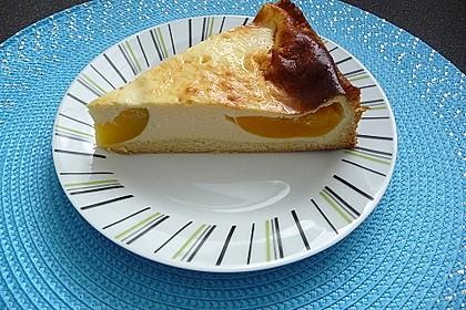 Aprikosen - Sahnerahm - Kuchen