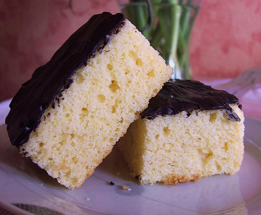 Zitronenkuchen Vom Blech Mit Schokoglasur Von Frankengirl Chefkoch De