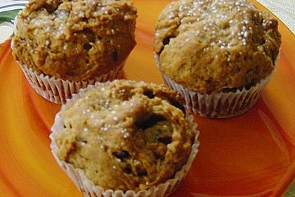 Apfel - Muffins mit  Rosinen 6