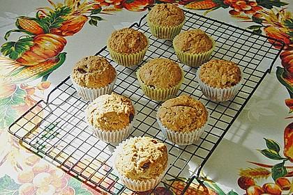 Apfel - Muffins mit  Rosinen 5