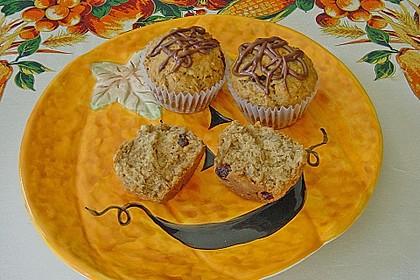 Apfel - Muffins mit  Rosinen 1