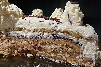 Apfel - Mohn - Marzipan - Torte 10