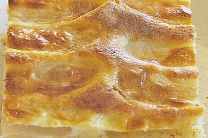 Apfel - Marzipankuchen mit Vanille - Schmandguss 11