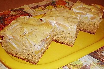 Apfel - Marzipankuchen mit Vanille - Schmandguss 8