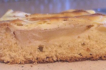 Apfel - Marzipankuchen mit Vanille - Schmandguss 9