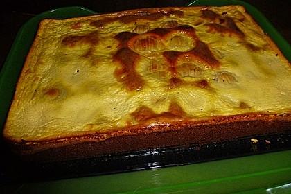 Apfel - Marzipankuchen mit Vanille - Schmandguss 14