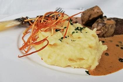 Kartoffel - Pastinaken - Püree mit Trüffelöl 1