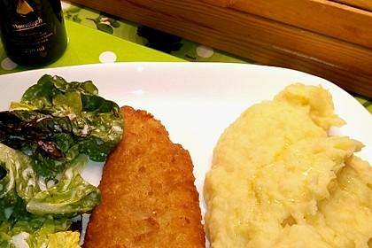 Kartoffel - Pastinaken - Püree mit Trüffelöl 4