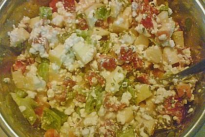 Hüttenkäse - Apfel - Salat 7