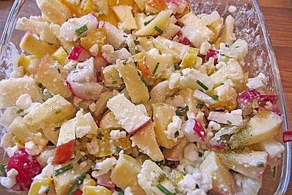 Hüttenkäse - Apfel - Salat 2