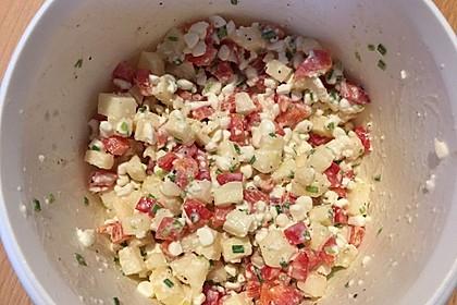 Hüttenkäse - Apfel - Salat 4