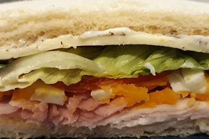 Klassisches Sandwich (Bild)