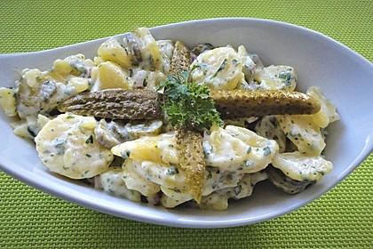 Allerbester Kartoffelsalat mit Delikatessgurken