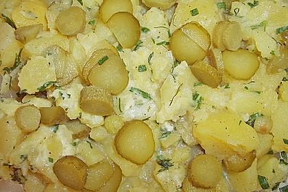 Allerbester Kartoffelsalat mit Delikatessgurken 6