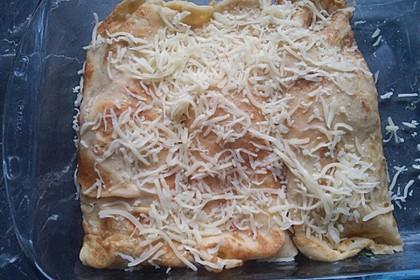 Sommerpfannkuchen mit Zucchini - Knoblauch - Frischkäse - Füllung 38