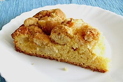 Apfelkuchen mit Butterstreuseln 43