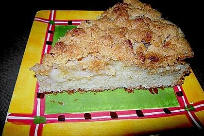 Apfelkuchen mit Butterstreuseln 72