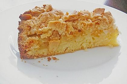 Apfelkuchen mit Butterstreuseln 11