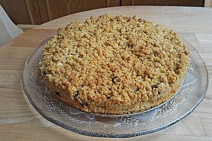 Apfelkuchen mit Butterstreuseln (Bild)